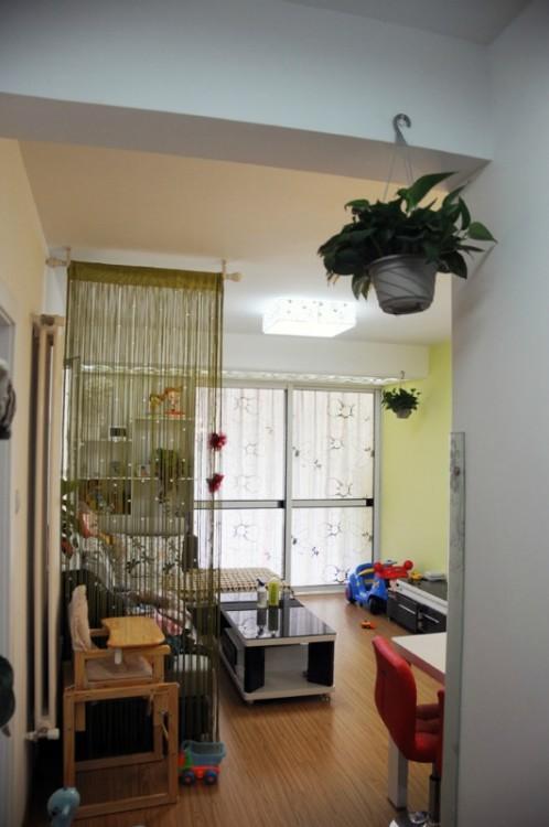 海岸华府-现代简约-二居室 喜欢 0 青岛实创装饰-海岸华府装修案例