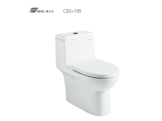 鹰卫浴 CB/D116座便器