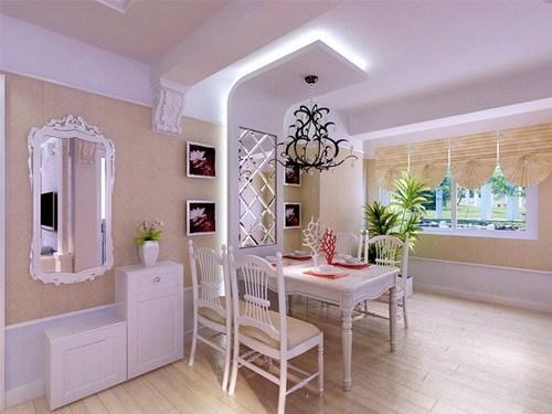 龙湾城别墅 现代简约 240平米二居室装修图片