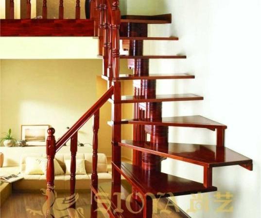 专业楼梯生产厂家 伊莎贝拉整梯 楼梯配件 优质楼梯