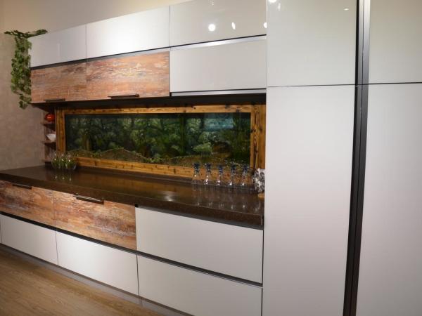 新兴狄安娜厨房家具白玻系列精品橱柜