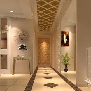欧美风情一居室装修效果图