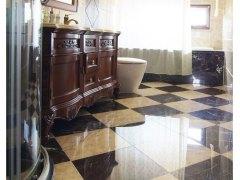 东鹏 瓷砖 水晶瓷富贵米黄地砖DG801053客厅卧室