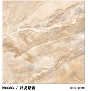 诺贝尔卢浮印象(黄)微晶砖R80383