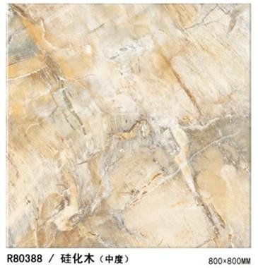 诺贝尔琥珀硅化木(中度)微晶砖R80388