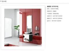 【时尚浴室柜5.5折!】东鹏艾菲尔10702GQ时尚浴室柜