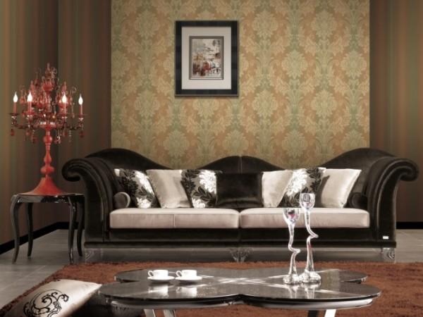 欧雅壁纸普雷斯顿奢华高雅古典风格家用商用壁纸