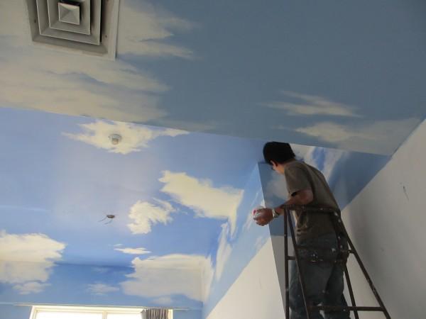 手绘墙,壁画
