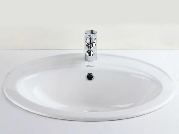 鹰卫浴 单孔台上盆洗手盆洗脸盆洗面盆 智洁玉晶釉面LAF02