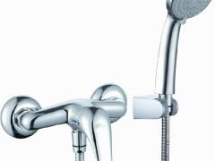 鹰卫浴多功能花洒挂墙淋浴龙头不锈钢双扣软管EF-425022