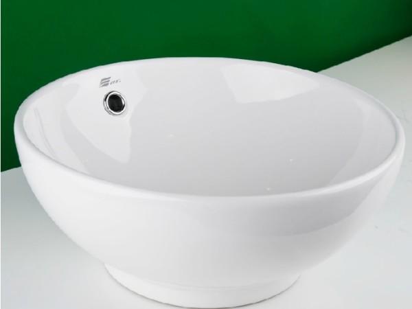 鹰卫浴 台上盆艺术盆洗脸盆洗手盆洗面盆 智洁玉晶釉LA-35