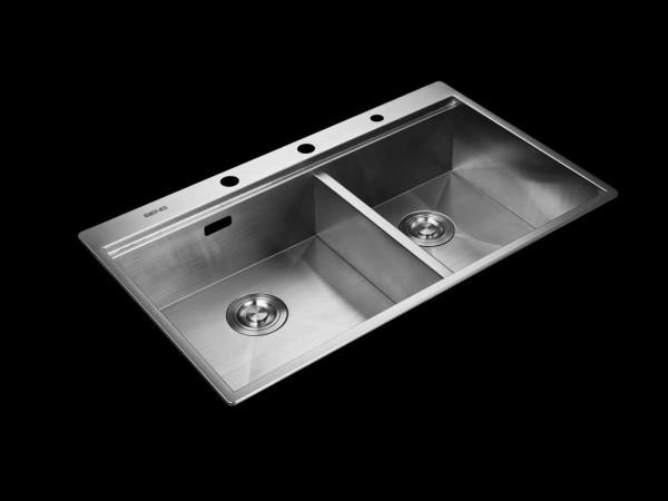 森歌手工厨房水槽 GB8652ZF
