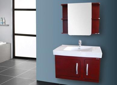 辉煌卫浴 橡木浴室柜
