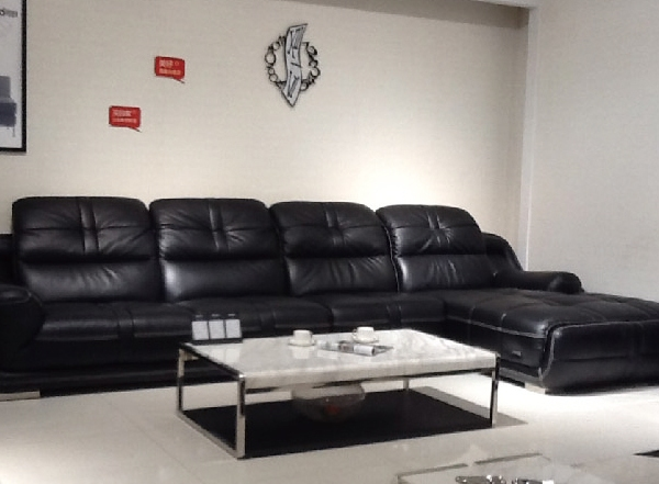 可的KS1166纯皮沙发