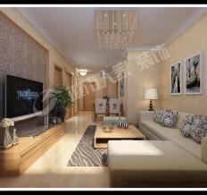 天泰城美立方-中式古典-二居室