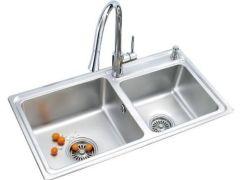 劳达斯卫浴 洗菜盆 水槽 双槽 064
