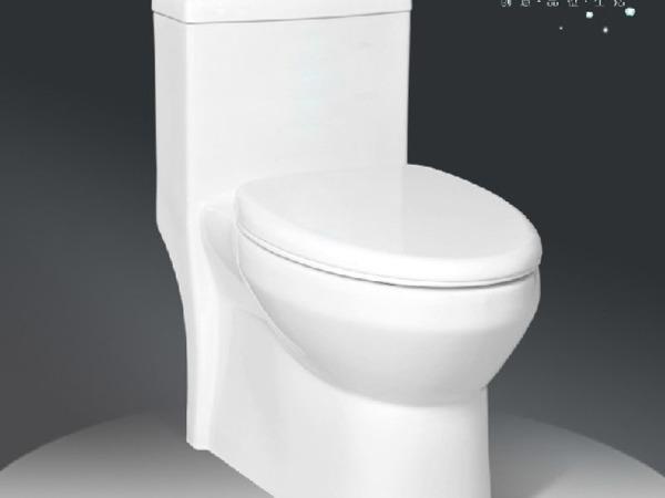 惠达卫浴 自洁釉 喷射虹吸式 连体坐便器HDC6151 优惠