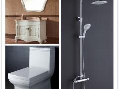 金牌卫浴纯白浪漫金质人生RF015橡木仿古柜