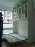 南宁艺宝威尔家具定制极具时代特色的隐形床亦称壁挂床图片