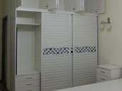 南宁艺宝威尔家具定制现代风格的整体卧室家具