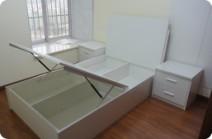 南宁艺宝威尔家具高品质的高箱床图片