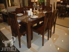 东升X9I01―1,X9J04―1纯实木餐桌椅