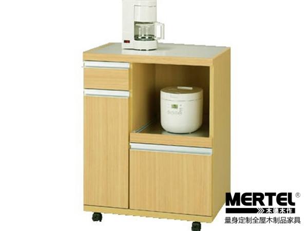 木德木作简约风系列韩式可以移动餐边柜 量身定做家具