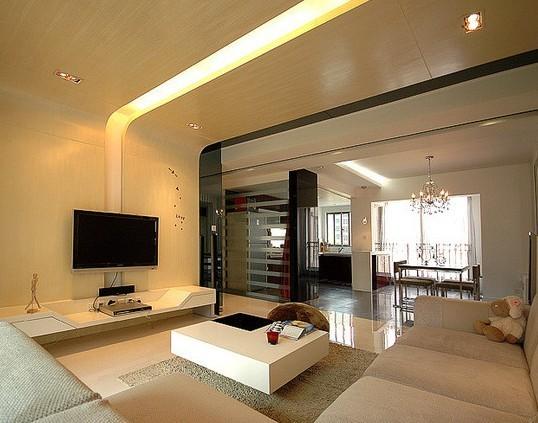 现代简约-127平米三居室-装修设计