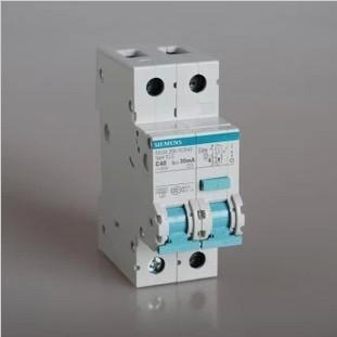 西门子空开40A带漏电保护西门子断路器40A漏保装