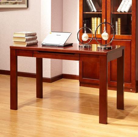 华日 书桌 金玉色/熟栗色1400 两色可选