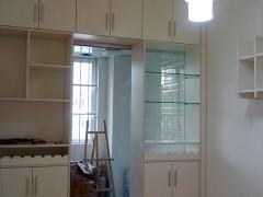 南宁艺宝威尔家具定制YB-JG厨房酒柜作隔断,合理利用空间