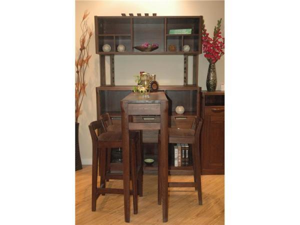 集美家居天坛纯实木吧台柜桌