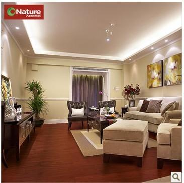 大自然 高档大美木豆多层实木复合地板