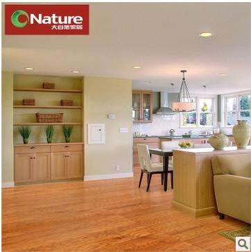 大自然山核桃多层实木复合仿古地板