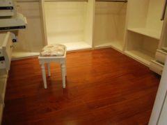 朗居香脂木豆实木地板