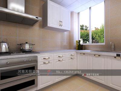 田园风格-140平米三居室装修样板间