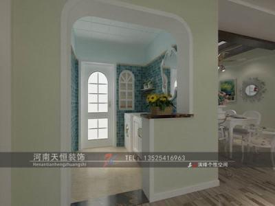 田园风格-139平米三居室装修样板间