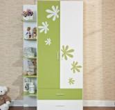 七彩人生 板式两门儿童衣柜Q5-WO9010图片