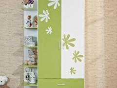 七彩人生 板式两门儿童衣柜Q5-WO9010