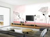 依洛无纺 无纺布电视背景 沙发 卧室背景大型壁画 订制壁纸