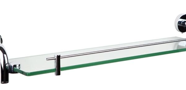 迪森9603铜镀铬化妆台置物架