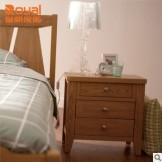 皇朝家私QK02C001卧室收纳储物实木床头柜