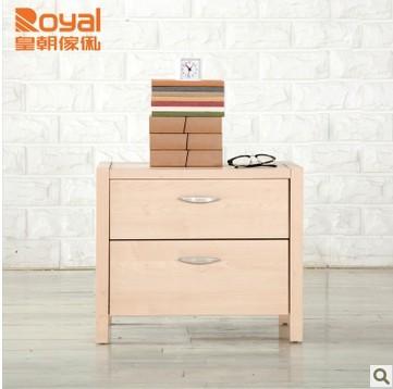 皇朝家私QK01C002伊冯卧室收纳储物实木床头柜