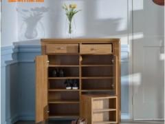 皇朝家私QK02E001板式大容量现代时尚鞋柜