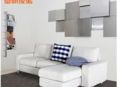 皇朝家私 QKS1201-1客厅小户型三人位布艺布料组合沙发