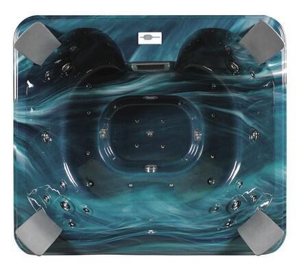 蒙娜丽莎出口冲浪按摩浴缸,亚克力水疗浴缸