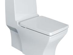 美标概念方形3/4.5升超强节水型分体座厕
