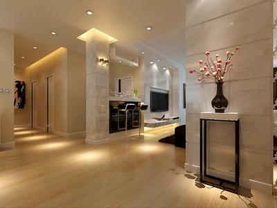 现代简约-114平米三居室装修设计