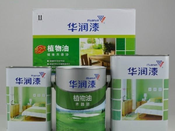 华润漆清味植物油 5kg 木器漆TJD302/TJM3025