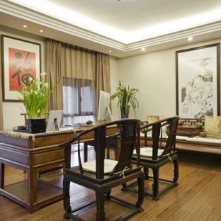 中式古典书房装修效果图大全图片
